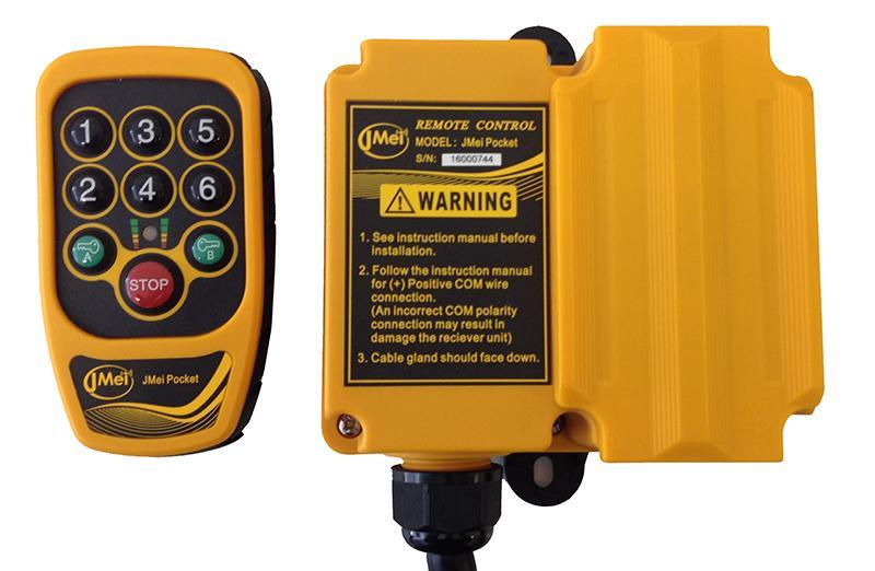 Télécommande industrielle compacte et légère - JMei Pocket