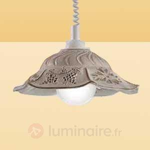 Suspension VITELA avec un rayonnement rustique - Cuisine et salle à manger