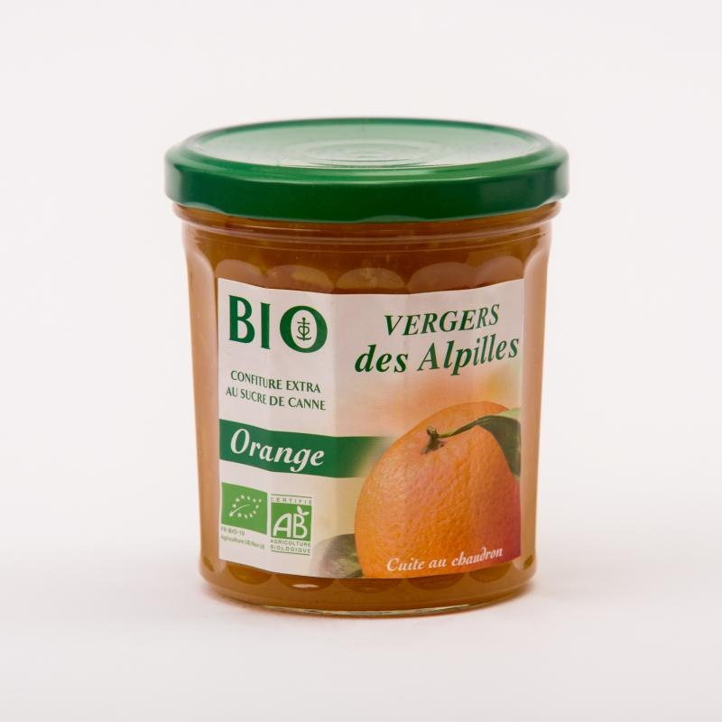 Vergers BIO - Orange - Confitures Biologiques au sucre de canne