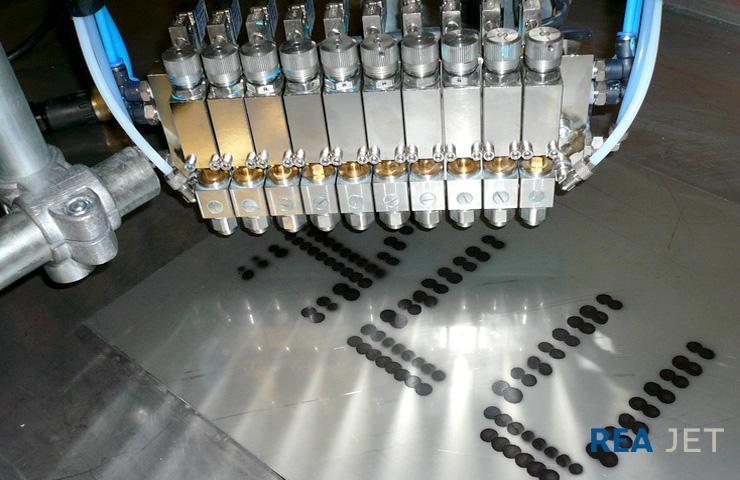 Spray Mark Systems - Spray mark technology blocks