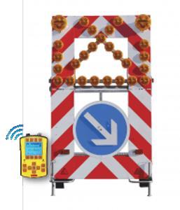 Remorque de signalisation