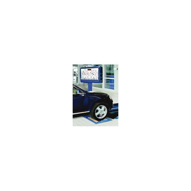 Remtestbank Maha IW2 LON all wheels - Ophanging en remmen