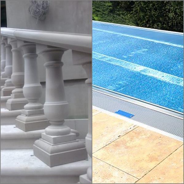 balustrades et piscines