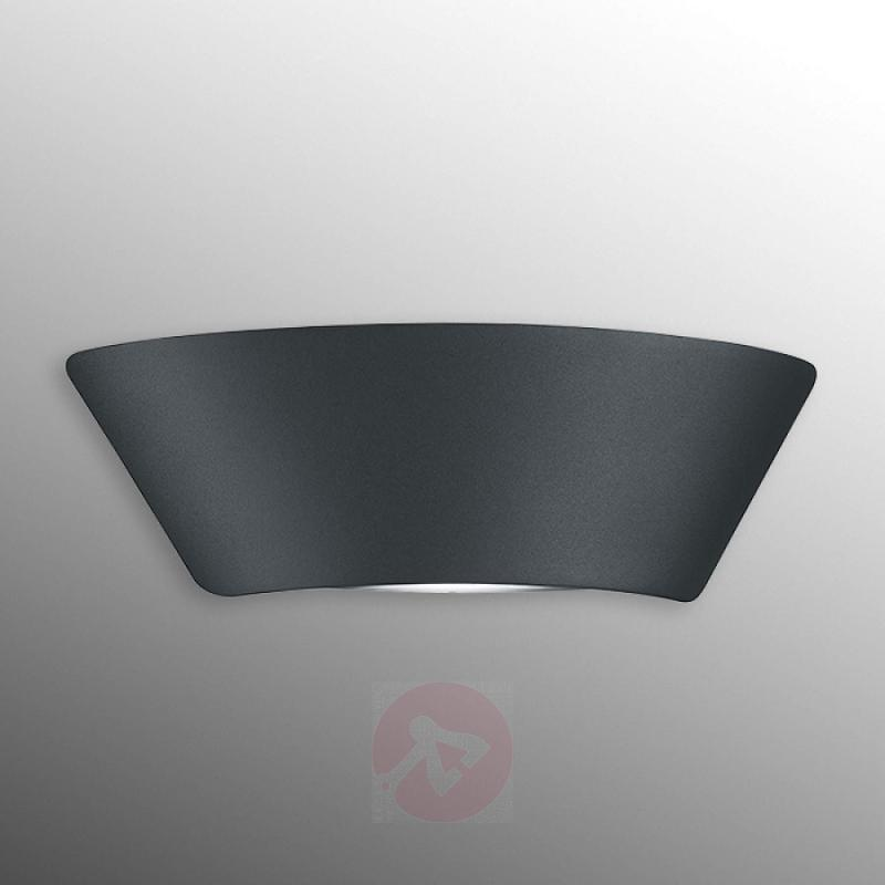 Simple LED outdoor wall lamp Sacramento - outdoor-led-lights