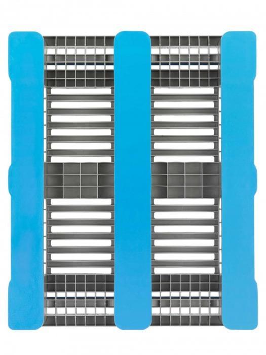 L3 - Paleta de plástico, Paleta industrial, Paleta con antideslizante