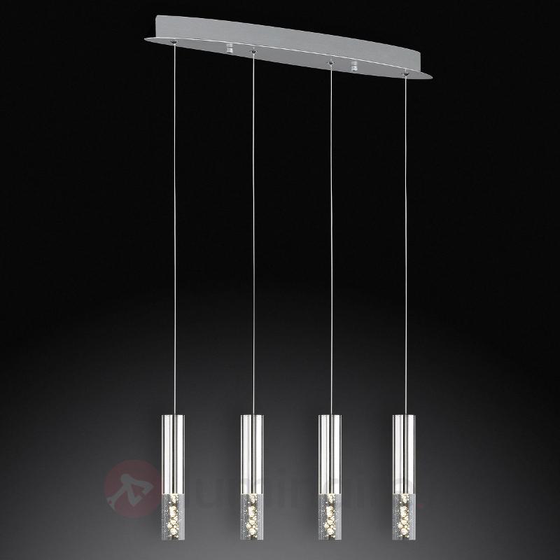 Suspension LED à quatre lampes Bubble - Cuisine et salle à manger