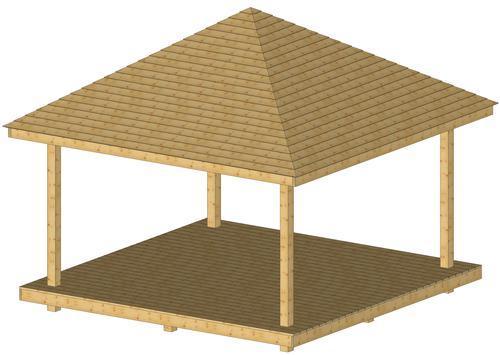 CONSTRUCTION EN BOIS - PAVILLONS D'ETE