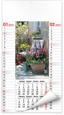 Calendriers illustrés - Flowers