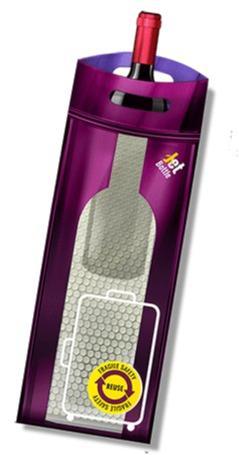 Il Packaging innovativo Jetbottle - Sicuro per le bottiglie e tutte le vostre cose