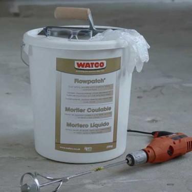 Mortier de réparation béton - Mortier Coulable