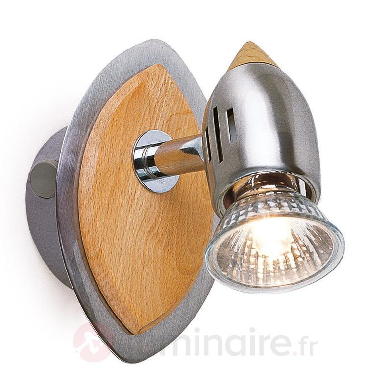 Applique CATANIA à 1 lampe - Appliques en bois