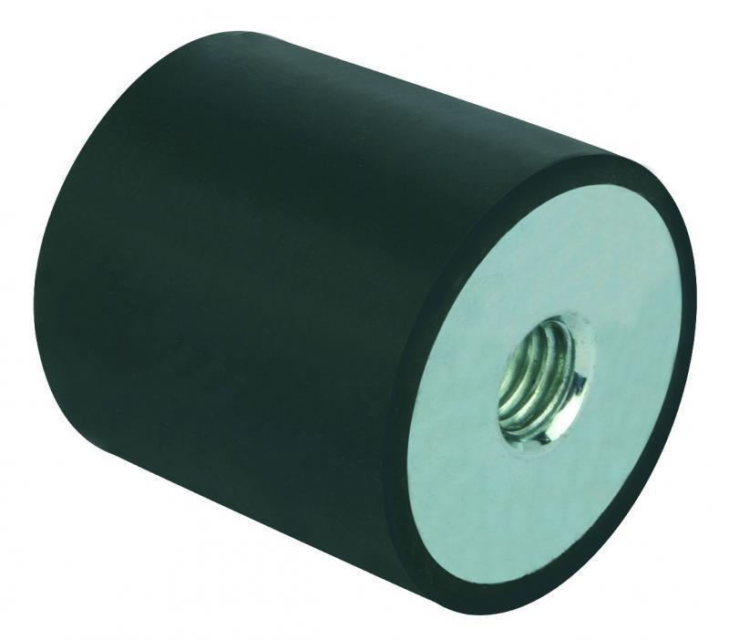 Gummi-Metall-Puffer Stahl oder Edelstahl - Gummi-Metall-Puffer Stahl oder Edelstahl, verschiedene Typen.