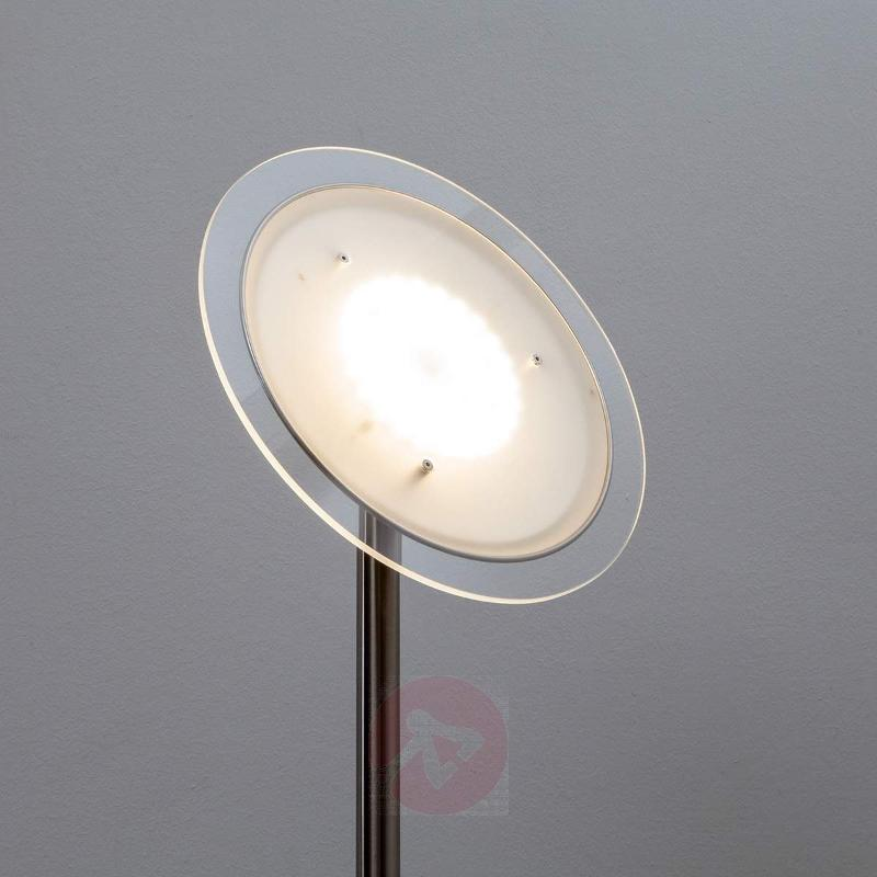 Malea - LED uplight, nickel matte - Floor Lamps