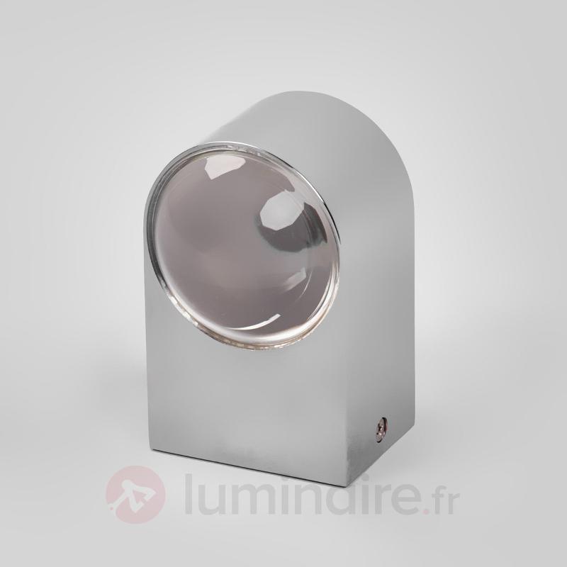 Applique chromée brillante Josina avec LED, IP44 - Salle de bains et miroirs