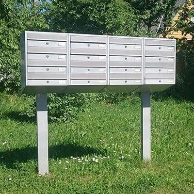STAND FOR APARTMENT LETTER BOX - STANDS