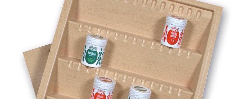 SALSA spice insert Reorganize your spice life! - Salsa Hobby beech