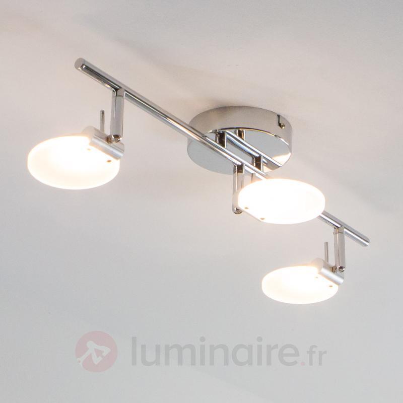 Plafonnier LED à trois lampes Sena - Plafonniers LED