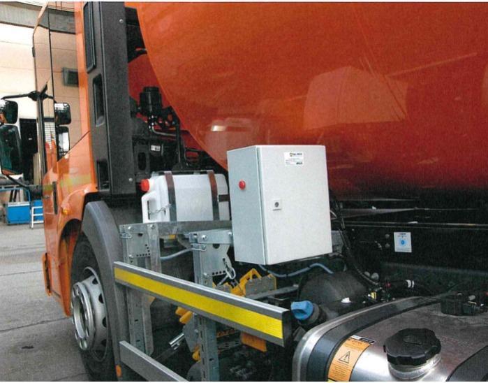 Cleartronic Geruchsneutralisierung Müllfahrzeuge - Gegen Gerüche Bioabfälle, Restmüll DSD