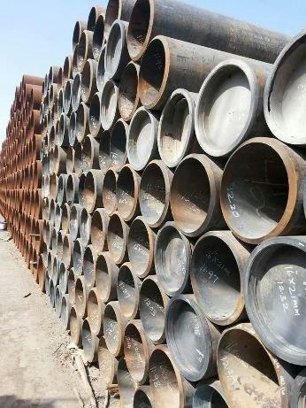 X46 PIPE IN ANGOLA - Steel Pipe