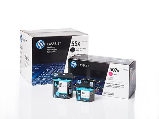 Original HP supplies and spare parts -