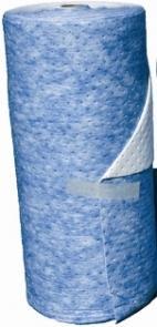 Rouleau Absorbant Hydrocarbures, Tapis Double Épaisseur, Renforcé - RH 4496 AR-Fibres polypropylène pour hydrocarbures