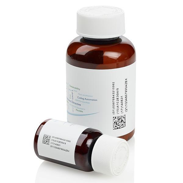Flaconi per prodotti farmaceutici - Tutte le soluzioni per la codifica e marcatura, controllo e sicurezza e...