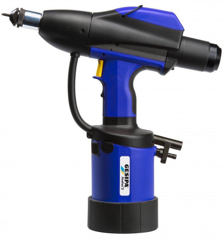 FireFox® 2 C - Remachadora neumática-hidráulica para tuercas remachables