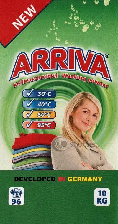 ARRIVA Universal Waschmittel 10kg - Reinigung - Pflege