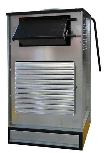 Générateur d'air par poil à bois - Recuperation energetique CALORY
