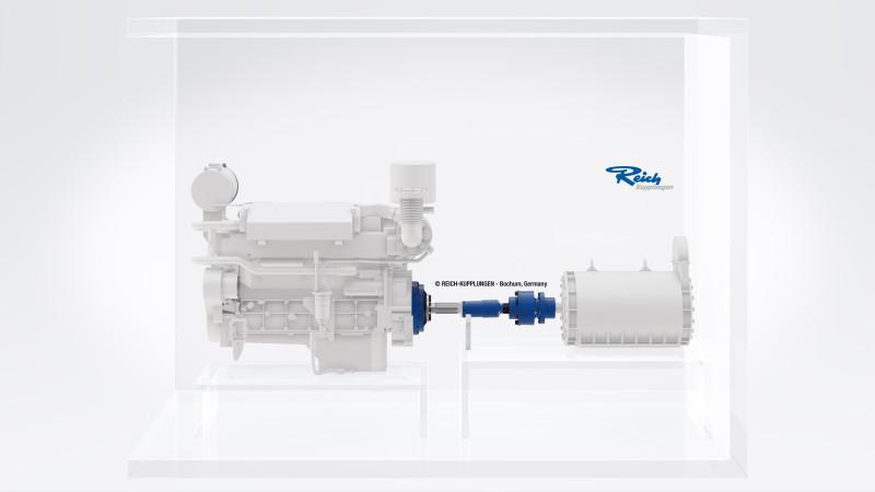 Adaptive TOK Coupling System - Adaptive TOK-Docking-System for Engine Testing