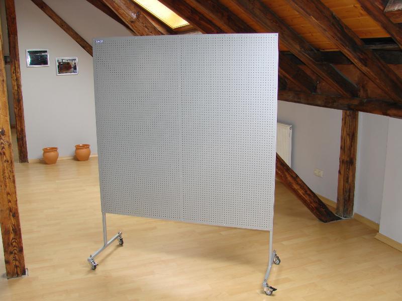 Displaywand (Stahl) - null