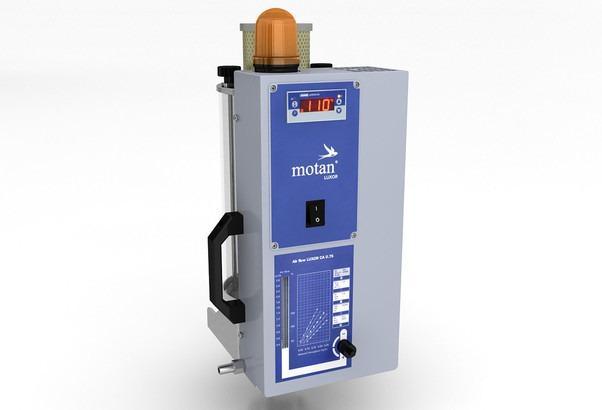 Secador de ar seco - LUXOR CA S (0,75-5l) - Estação de secagem, gerador de ar seco, tremonha de secagem para granulados