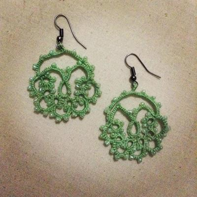 Crochet Beaded Earrings - Suppliers | Wholesaler | OEM | Production Services