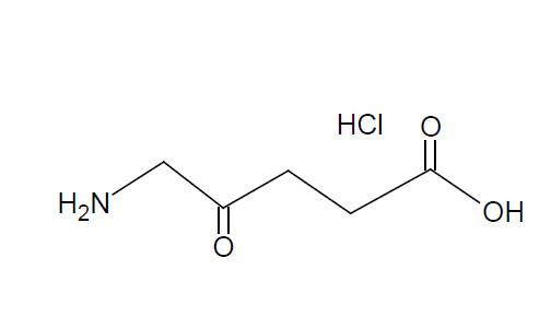 5-Aminolevulinic Acid Hydrochloride - 5-Aminolevulinic  Acid HCl; 5-ALA; Active Pharmaceutical Ingredient; 5451-09-2