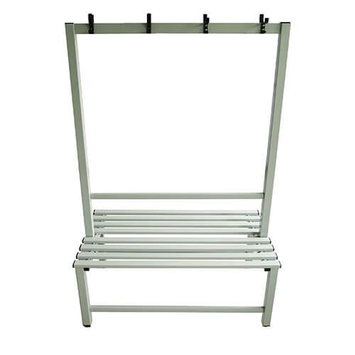 Seating - Double Sided Metal Bench