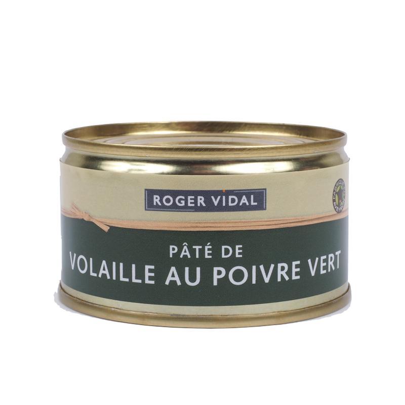 PATE DE VOLAILLE AU POIVRE VERT 125G - Epicerie salée