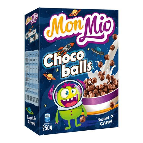Céréales boules de chocolat 250g - MONMIO - Céréales boules de chocolat 250g - MONMIO