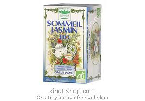 Tisane Bio Sommeil Jasmin - Référence : 2SOMJASM