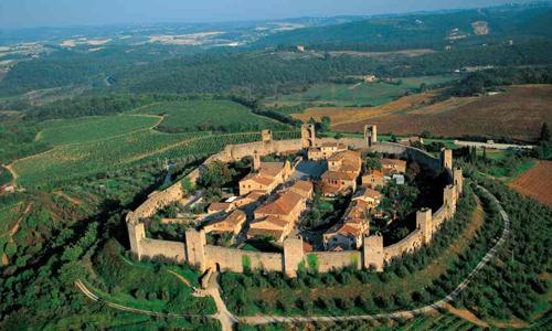 Monteriggioni e Antinori Chianti Classico - Un castello incantato a pochi chilometri da Siena