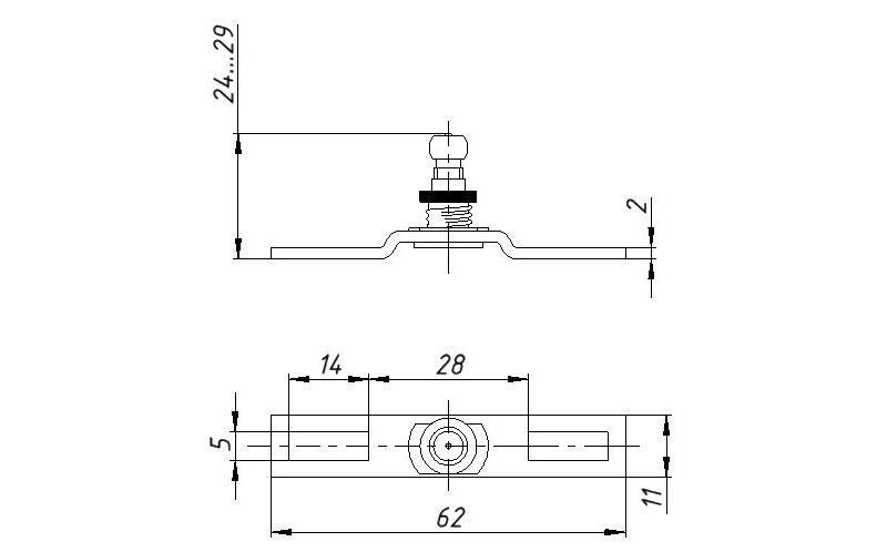 Promix-ad.db.12 Deadbolt - Accessories for locks