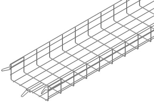 EASYCONNECT wire mesh cable trays - Best self-assembling basket cable tray, higher resistance and longer lifespan