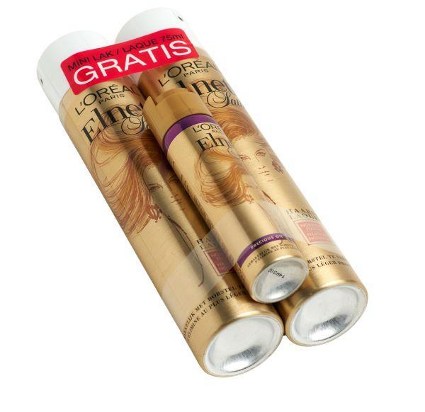 Bandall bündelt Spray- und Sprühdosen -