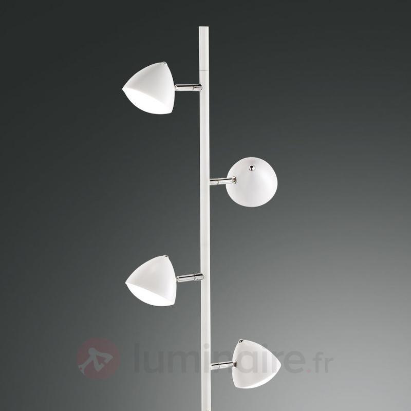 Lampadaire LED Bike variateur tactile style rétro - Lampadaires LED