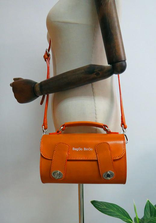 Papillon Leather Handbag,Crossbody Bag