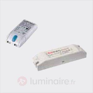 Transformateur pour spot encastré LED 12 V DC - Transformateurs LED