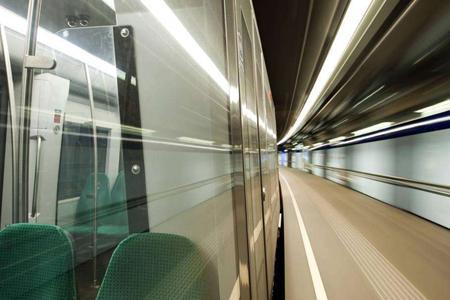 Verre de locomotive -
