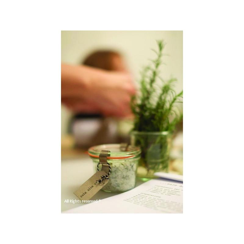 Vasi Weck® DROIT - 12 vasi di vetro Weck Droits 80 ml con coperchi e