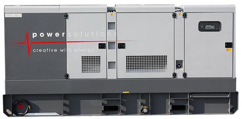 Générateur 550kVA - Fiche technique - Générateur 550kVA