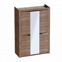 "Wardrobe 3 Doors ""Sorento"" Stirling Oak - Bedroom furniture"