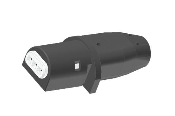 Connettore lineare per pompe circolatori Wilo e Grundfos con -